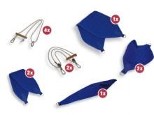 All-In Sport: De ideale Slingen-accessoires voor de Slingen-therapie. De Slingen zijn van een zeer goede kwaliteit en met een gewatteerde 100% katoenen...