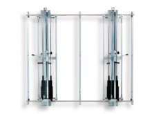 All-In Sport: Deze hoogwaardige wandconstructie is gemaakt voor de plaatsing van 2 pulleys, die worden meegeleverd. Met behulp het makkelijk Ent- und ...