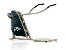 All-In Sport: Dit toestel bewerkstelligd een duw- en trekbeweging van het bovenlichaam (door heffen van de schouders en het naar onder drukken van de a...
