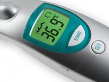 All-In Sport: <p>De ideale thermometer voor contactloze meting van de lichaamstemperatuur. De precieze en ber&uuml;hungslose meting is zeer goed geschi...