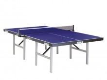 All-In Sport: Een tafeltennistafel volgens DIN EN 14468-1 A, voor de topsport. Bladdikte 22 mm, supersnel speelvlak. Metalen profielframe 50 mm hoog, s...