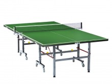 All-In Sport: Top tafeltennistafel voor school- en verenigingssport volgens DIN EN 14468-1 B. Bladdikte 19 mm, supersnel speelvlak, 40 mm metalen frame...