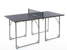 All-In Sport: Recreatietafel in midi-formaat, echt tafeltennisspel mogelijk. Ideaal bij beperkte ruimte, MDF-bladen, incl. netgarnituur, afm. 168 x 84 ...