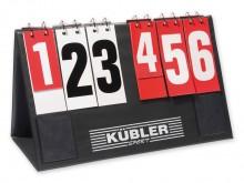 All-In Sport: Inklapbaar scorebord. Standen 0 - 99. 20 cm hoog T- voor timeout aanwezig.