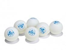 All-In Sport: Voordelige hobbybal voor intensief gebruik. Set van 6 stuks.