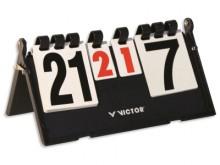 All-In Sport: Zeer robuust scorebord. Inklapbaar met verankeringsmechanisme. Cijfers aan beide zijden afleesbaar. Cijfers van 0-36, met set weergave va...