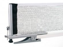 All-In Sport: Compacte metalen garnituur met hoogteversteller, in klemtechniek. In praktische opbergtas. Voldoet aan EN 14468-2 B school- en vereniging...
