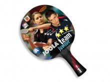 All-In Sport: Speciaal batje voor de kinderhand in 3-ster kwaliteit met 1,7 mm ITTF toegelaten TRAMP-toplaag. Kleiner blad en dunnere grip zorgen voor ...