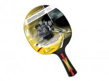 All-In Sport: Donic Schilkröt, speciaal batje voor gecontroleerd spel. Anatomische grip, 1,5 mm foam, 2-ster toplaag voor max. balcontrole. Met kunstst...