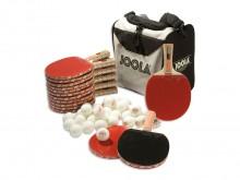 All-In Sport: De tafeltennisset voor scholen. <br /> De tafeltennisset bestaat uit 14 Tafeltennisbats van Joola Match, 30 tafeltennisballen van Joola e...