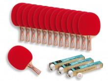All-In Sport: <p>De Kübler Sport® Tafeltennis Spaarset bestaat uit:</p> <ul> <li>14 x Kübler Sport CLUB Tafeltennisbats</li> <li>3 x d...