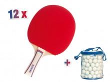 All-In Sport: <p>De K&uuml;bler Sport&reg; Tafeltennis Spaarset SCHOOL bestaat uit:</p> <ul> <li>12 x Tafeltennisbatje T4807</li> <li>1 x Tafeltenni...