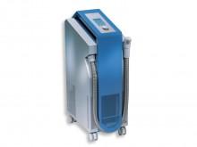 All-In Sport: Das mobile Kaltlufttherapiegerät Cryoflow 1000IR ermöglicht eine konstante Temperatureinstellung mit fortschrittlichem Biofeedback System...