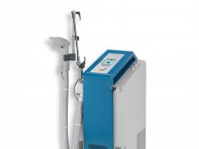 All-In Sport: Der Haltearm für das Kaltluftgerät Cryoflow 1000 IR ist ein Zubehör, an welchem der Behandlungsarm befestigt werden kann.