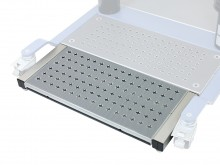 All-In Sport: Zusätzliche Trittflächen-Einheit, die ohne Werkzeuge einfach an die Basis Einheit ansteckbar ist. Die stabile Metall-Trittfläche ist mit ...