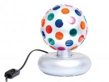 All-In Sport: De roterende bal tovert coole lichteffecten en zorgt voor een ontspannen atmosfeer. De waarneming van licht en kleuren wordt hier speciaa...