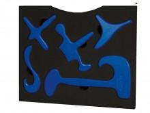 All-In Sport: Richellis kofferset Basic resp. Physio-set, bestaat uit hoogwaardige massagehulpmiddelen voor manuele behandeling en ter ondersteuning b...