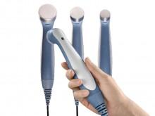 All-In Sport: Ergonomisch gestalteter Schallkopf in verschiedenen Größen. Der Schallkopf wird erwärmt und verfügt über eine Kopplungssteuerung mit visu...