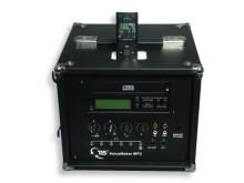 All-In Sport: Optimaal voor het gebruik in kleine ruimtes tot ca. 75 m2. Robuuste versterkerbox met MP3/CD-speler en USB-recorder. Incl. infrarood-afst...