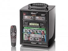 All-In Sport: Compacte geluidsinstallatie voor de geluidsversterking van ruimtes met max. 50 personen. Geschikt voor voordrachten en presentaties op sc...