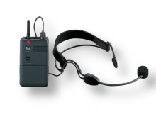All-In Sport: hoogwaardige UHF-zendmicrofoon-systeem. Reikwijdte in gebouwen ca. 25 meter, op vrij veld ca. 150 meter.