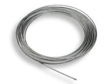 All-In Sport: Zum Aufhängen und Spannen der Schutznetze empfehlen wir verzinkte Stahldrahtseile, die an beiden Enden mit Kauschen und Spannschloss vers...