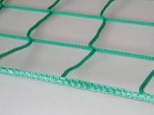 All-In Sport: Als stabiele randafwerking voor afscherm-/stopnetten, speciaal aan te bevelen als het net gespannen wordt.