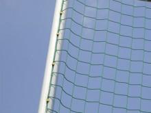 All-In Sport: Bestaande uit bijzonder stabiele aluminium profielen. Meegeleverd worden: bodemhulzen, PU-nethouders (3 stuks per meter)