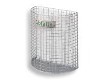 All-In Sport: Halfrond, te monteren aan staander of strip, 27 liter inhoud, hoogte 430 mm, gewicht 2,5 kg