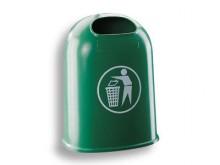 All-In Sport: Abfallbehälter/Papierkorb grün aus Kunststoff  ? 42 l, Leergewicht 9,2 kg ? UV-stabil ? Online Bestellen ? 3 Jahre Garantie