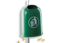 All-In Sport: Zubehör Abfallbeseitigung: Rohrpfosten für Abfallbehälter ? Online Bestellen ? 3 Jahre Garantie