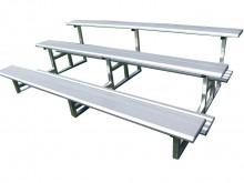 All-In Sport: <p>Flexibel inzetbare toeschouwers-tribune van aluminium, TÜV-getest. Uitermate geschikt voor kleine verenigingen of als extra aanvu...