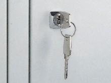 All-In Sport: mit 2 Schlüsseln, nur in Verbindung mit Bestellung eines CP Geräteschranks.<br />(Mehrpreis)