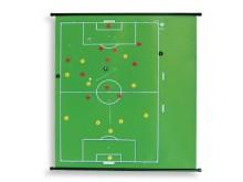 All-In Sport: Ons magnetisch instructiebord geeft u de mogelijkheid om zowel met magnetische spelersymbolen als ook met normaal schoolkrijt te werken. ...