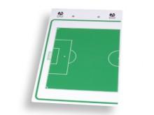 All-In Sport: Kunststof klembord, droog uitwisbaar, aan beide zijden te gebruiken, incl. schrijfblok (DIN A4, 28 vellen) en speciale marker. Afm. 40,5 ...