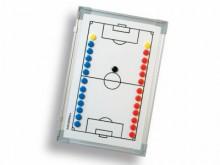 All-In Sport: Tactiekbord voor voetbal<br /><br />Het tactiekbord voor voetbal is licht en magnetisch. Het is daardoor uitermate geschikt voor de bespr...