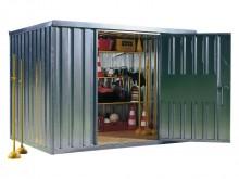 All-In Sport: De Materiaalcontainer is als geschapen voor het gebruik op het sportveld. Licht en snel gemonteerd vinden materiaal en machines een weerb...
