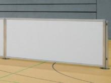 All-In Sport: Van hoogwaardige witte, met hard-PVC gecoate, sandwich panelen, constructiehoogte 1 meter. De elementen zijn in een speciaal aluminium fr...