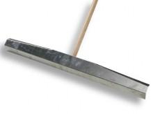 All-In Sport: Voor zandbakken, van aluminium, 100 cm breed, met bevestigingsdelen, compleet met steel.