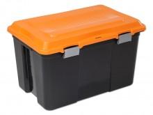 All-In Sport: Simpelweg ongelooflijk wat deze robuuste box allemaal slikt! De perfecte allround box heeft een inhoud van 100 liter, is voorzien van kun...
