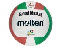 All-In Sport: School- en trainingsvolleybal van zacht synthetisch leder. Maat en gewicht volgens voorschrift.