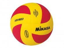 All-In Sport: Top oefen- en trainingsvolleybal van Mikasa, die zowel binnen als buiten (Beachvolleybal) gebruikt kan worden. 8 vlamvormige panelen in r...