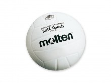 All-In Sport: <b>Molten Volleyball Soft Touch IV58L aus Echtleder</b><br /><br /><b>Der Molten Volleyball SOFT TOUCH IV58L Genuine Leather mit einzig...