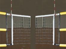 All-In Sport: Met DVV-keurmerk, lengte 180 cm, compleet met antennetassen en markeringen. Levering per paar. Inclusief bevestigingskoorden.