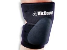 All-In Sport: Deze robuuste volleybal-knieband van nylon biedt een hoog draagcomfort en een zeer goede bewegingsvrijheid vanwege de open achterzijde. E...