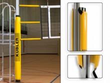All-In Sport: Ter voorkoming van blessures. Geschikt voor volleybal- en basketbalpalen. Kunststof kern met schuimstof gepolsterd en bekleed met slijtva...