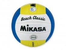 All-In Sport: Mikasa beachvolleybal met het nieuwe PU-Soft oppervlaktemateriaal. 18-delig genaaide bal, weer- en zeewatervast, dubbellagige No-Leak But...