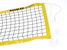 All-In Sport: Voor speelveldmaat 9 x 18 meter. Wedstrijdnet 9,5 x 1 meter van ca. 3 mm dik polyester, knooploos, boven met star Kevlar spankoord 11,7 m...