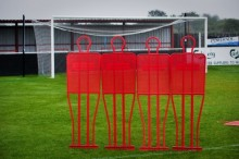 All-In Sport: <p>Nieuw sinds dit najaar zijn deze professionele Vrije Trap poppen welke reeds in gebruik zijn bij vele profclubs in Europa.</p> <p>Dez...