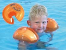 All-In Sport: Met FLIPPER SwimSafe® hebben uw kinderen zorgeloos zwemplezier- Geoptimaliseerde opwaartse druk door styroporkern en luchtkamer met veili...